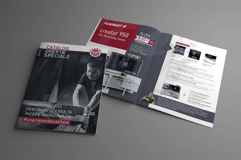 design catalog DTP Felder